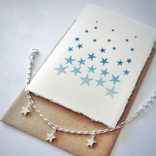 Silver select star bracelet