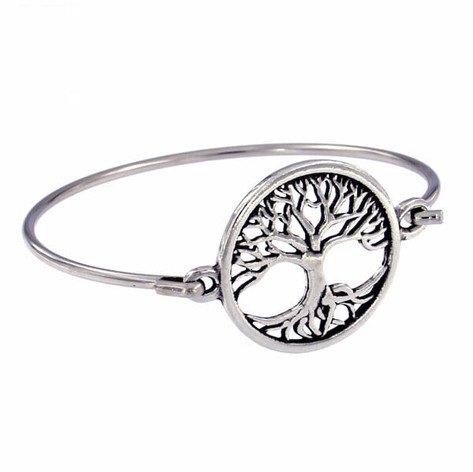 Tree of life clip bangle £16.25