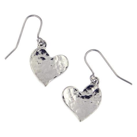 Heart earrings £16.00