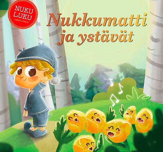 Nukkumatti NUKULUKU iltasatu satukirja lukemista lapsille