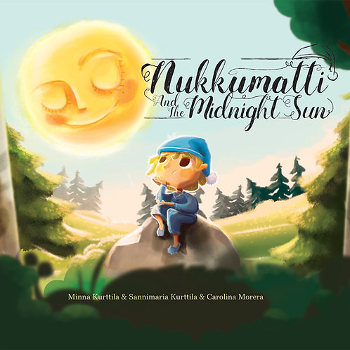 Nukkumatti and the Midnight Sun book
