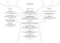 Ravintoloiden printtimateriaali