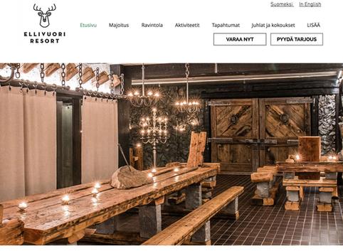 Hotellin nettisivut
