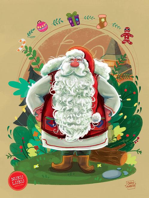 Joulupukki-juliste