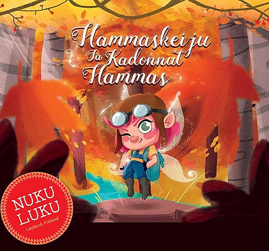 Hammaskeiju NUKULUKU iltasatu satukirja lukemista lapsille