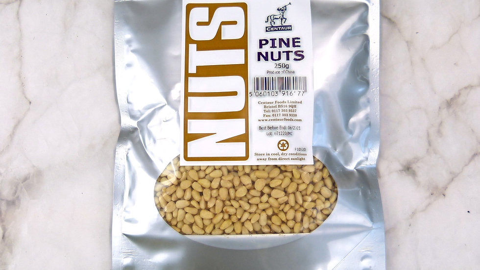250g pine nuts