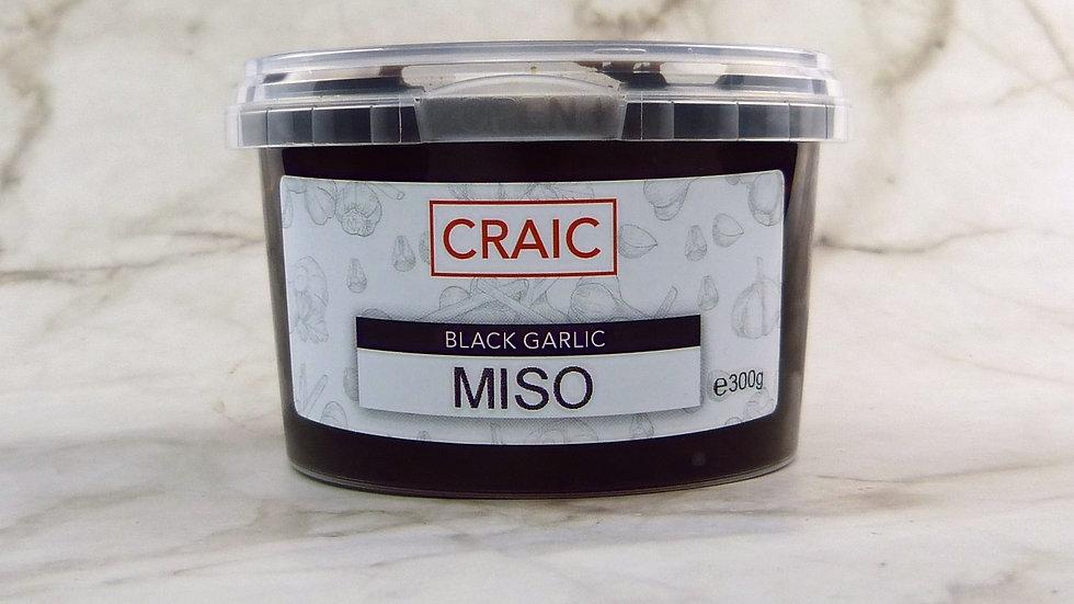 Black garlic miso paste