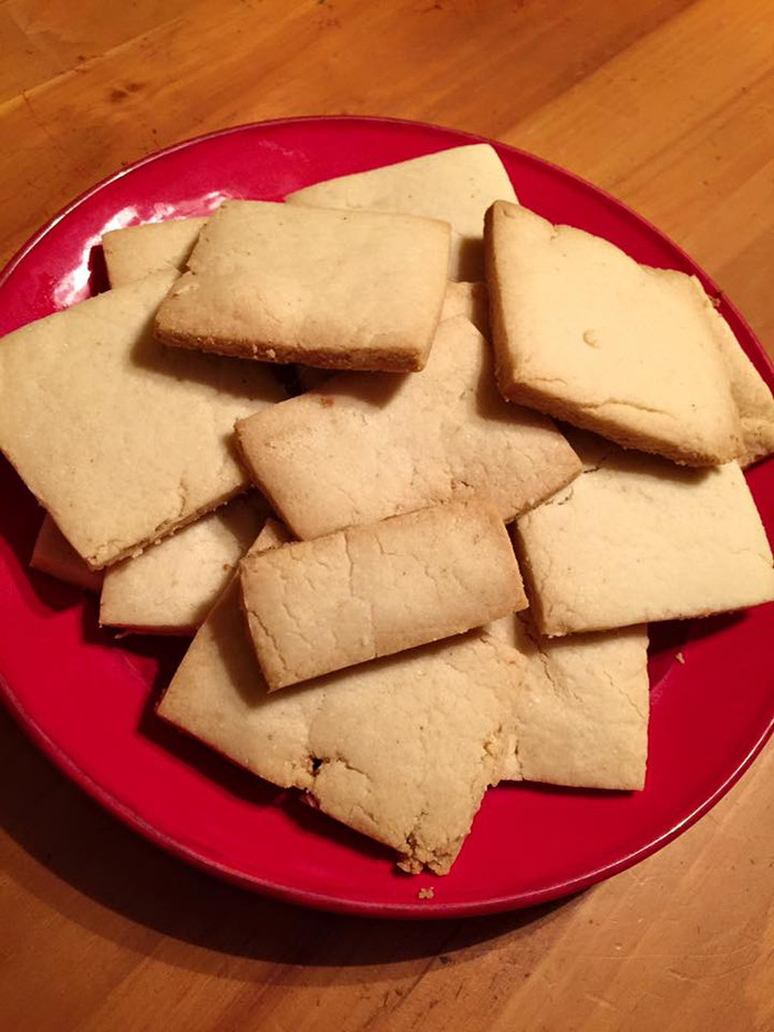 In which I call shortbread dough foul names under my breath.