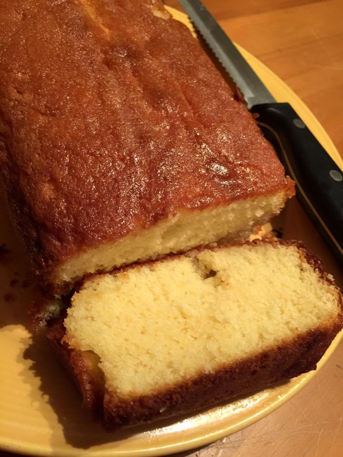 In which I bake a beautiful lemon drizzle cake for Valentine's Day and refuse to eat it.