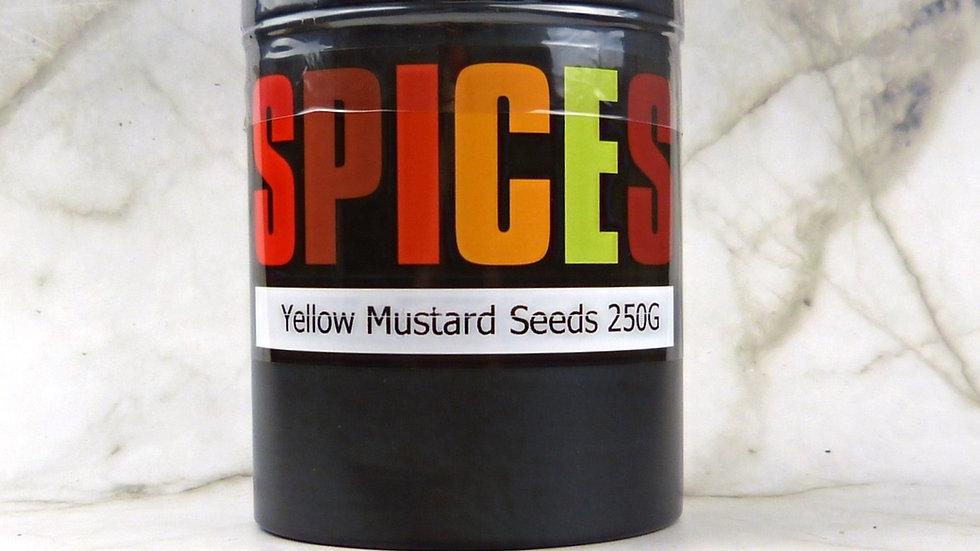 Yellow Mustard Seeds (250g)