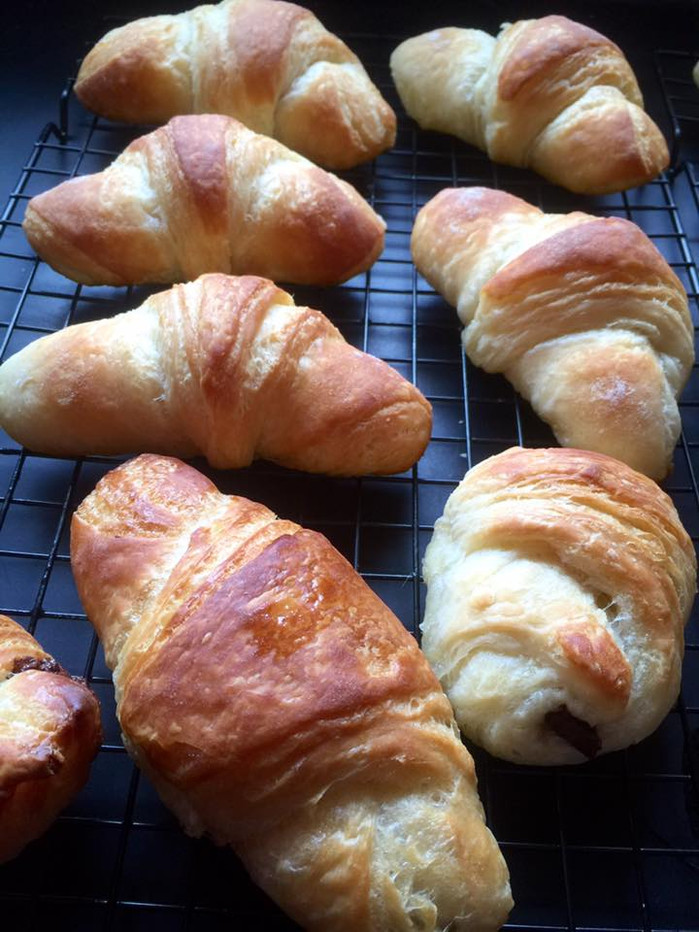 In which I successfully engage in the GORGEOUS ALCHEMY known as croissant-making.