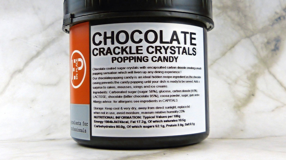 Chocolate Popping Candy (500g)