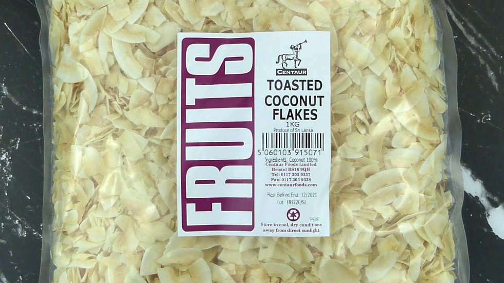 Toasted Coconut Flakes (1kg)