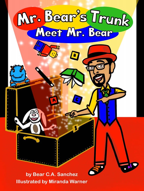 Mr. Bear's Trunk:  Meet Mr. Bear, The Activity Book and Feature Episode