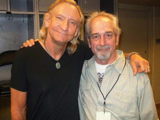 with Joe Walsh