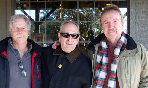 with Chris Hillman and Herb Pedersen