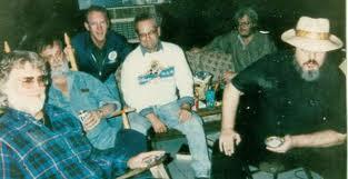 with Harold Coward, Al Hirt and Dr. John