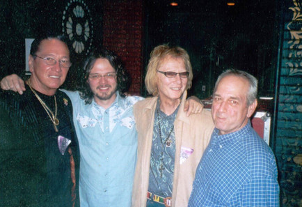 with Ken Hatley, Luther Dickerson and Gary Montgomery