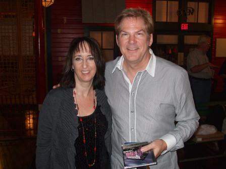 Carol with John Jorgenson