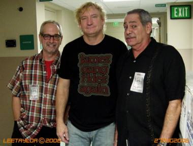with Joe Walsh and Joe Lala