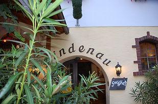 Eingang Lindenau Terasse