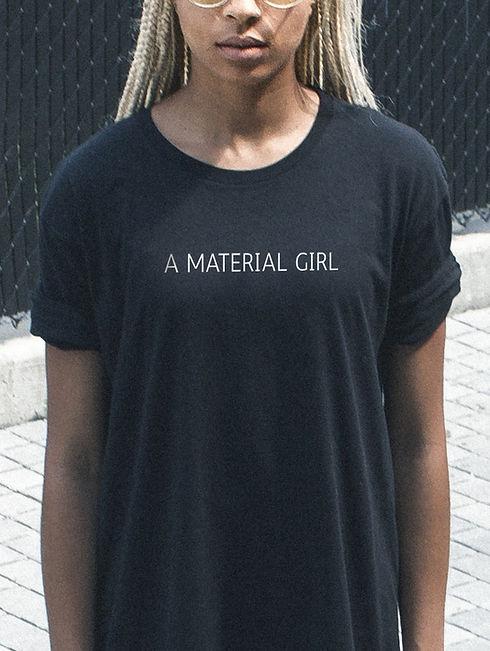 Material Girl camiseta