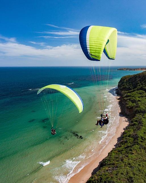 Great Ocean Road Paraglidng Melbourne Victoria Australia