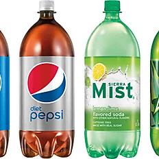 2-Litter Soda's