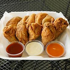 Chicken Wing/Fries/Coleslaw