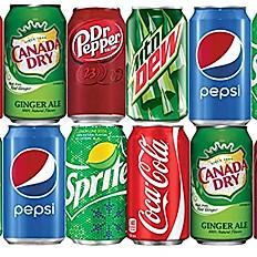 12 FL OZ Soda in a Can