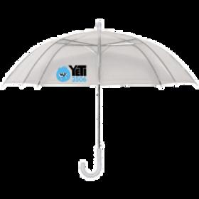 46-in. Clear Umbrellas