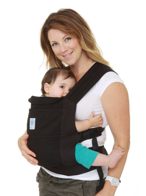 Moby GO Carrier - Black | Free Shipping Worldwide