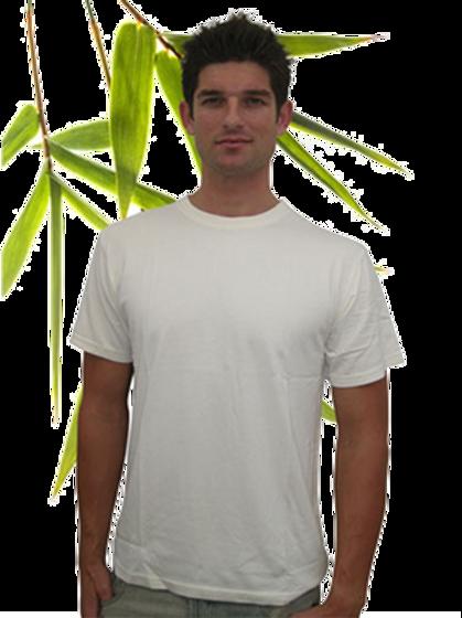 Bambu Dru - Men Short Sleeve-T Organic Bamboo Cotton Blend | Free Shipping World