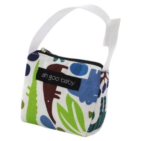 Pacifier Tote - Zoo Frenzy