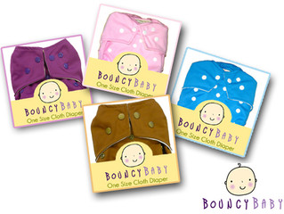 Special Offer : Bouncy Baby Microfiber Diapers