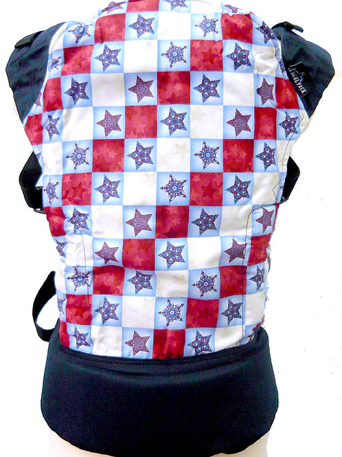 AngelPack Baby Carrier - Cowboy Stars