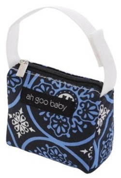 Pacifier Tote - Blueberry