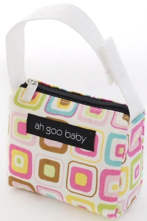 Ah Goo Baby Pacifier Tote - Gumdrop