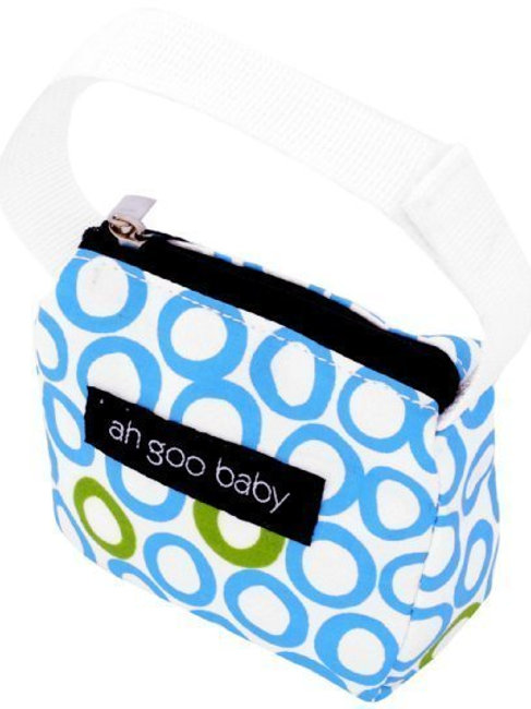 Ah Goo Baby Pacifier Tote - Bubbles in water