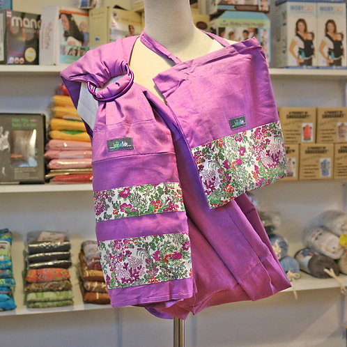 Jumpsac Ring Sling Secret Garden on Wild Orchid (S) - Free Shipping Worldwide