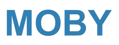 Moby Baby logo @ Bloop Distribution