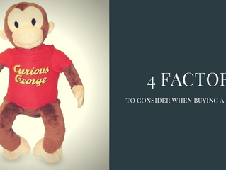 4 factors to consider when buying a plush toy.