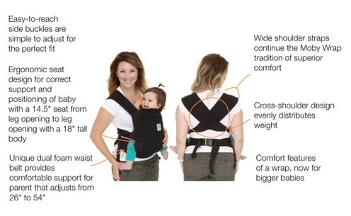 0cba388d2d2 The Comfortable Carrier for Babies 15-45lbs.