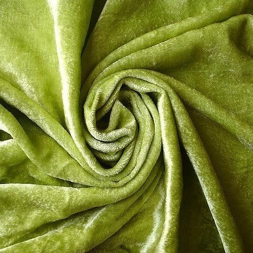 Bamboo Velour - Lime Green