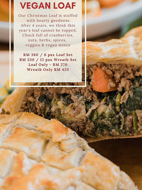 Christmas Set Vegan Loaf Test