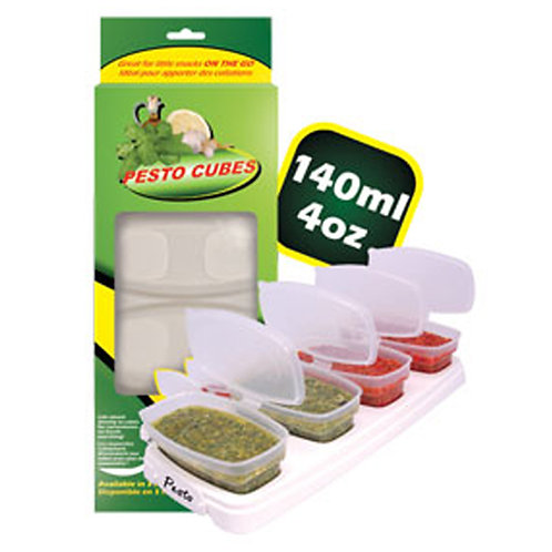 Pesto Cubes 140ml/4oz  Breast Milk Food Container BPA Free Shipping Worldwide