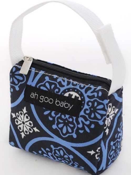 Ah Goo Baby Pacifier Tote - Blueberry