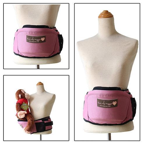 Baby Nari Hip Hugger Infant Hip Seat for Toddler-Pink -Free Shipping Worldwide