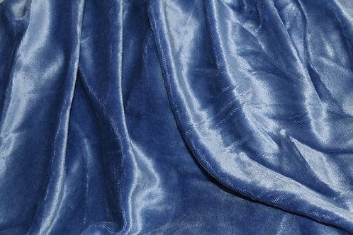 Bamboo Velour - Monaco Blue