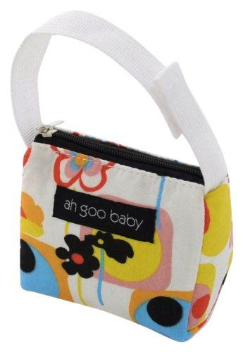 Pacifier Tote - Poppy